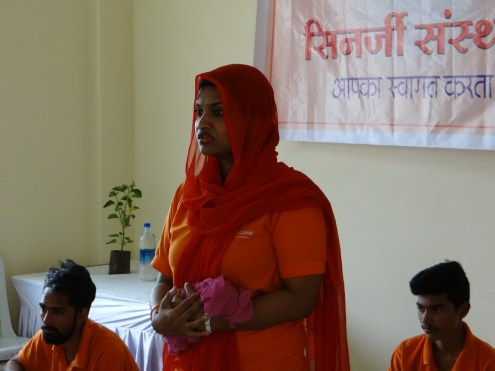 orange is the colour of our campaign