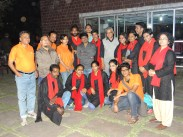 Raghuveer yadav, director of MSD and tai chi master with our nukad group.