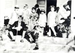 Egg Hunt Attendees at Belmont.