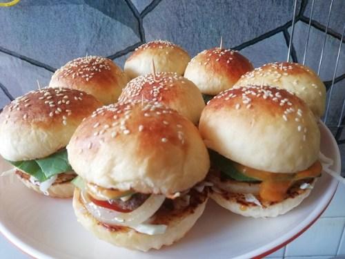 Cara Buat Roti Burger