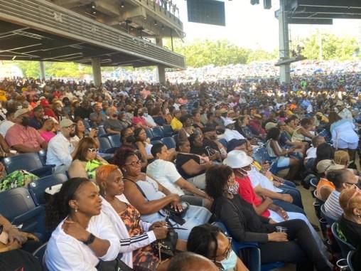 Crowd at Capital Jazz Fest 2021