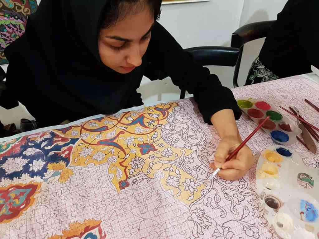 Dotting carpet designs, Tabriz