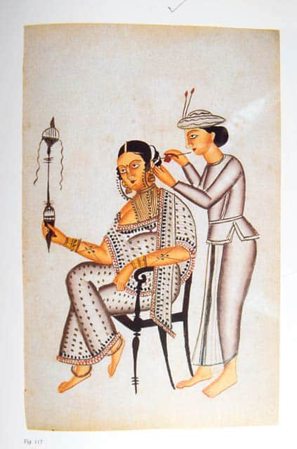 West Bengal Kalighat painting