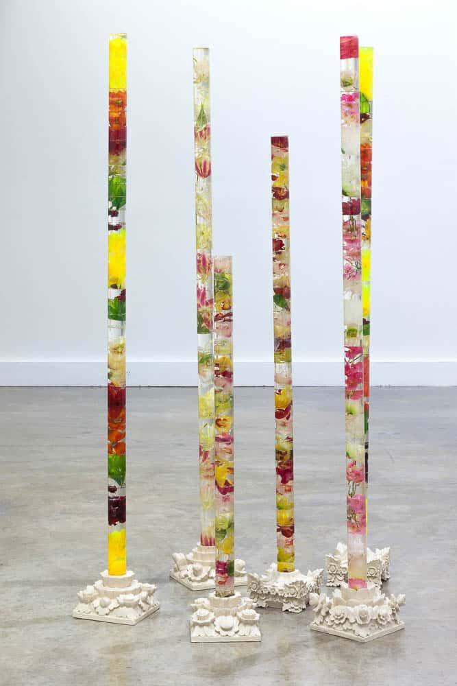 Mary Lou Pavlovic with Ketut Suaka, Flora and Patra, 2015, Dimensions variable, Mixed Media, (C) Mary Lou Pavlovic Monash - MADA Gallery