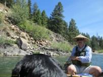 Blackfoot canoeing