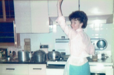 Grandma Babor in Kitchen