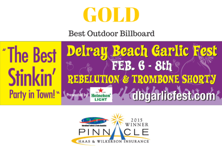 Gold - Best Outdoor Billboard - GF