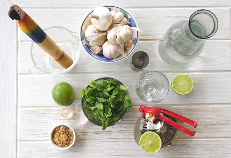 garlic mojito ingredients