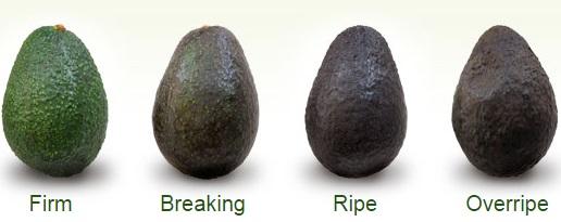 How to recognize a ripe avocado