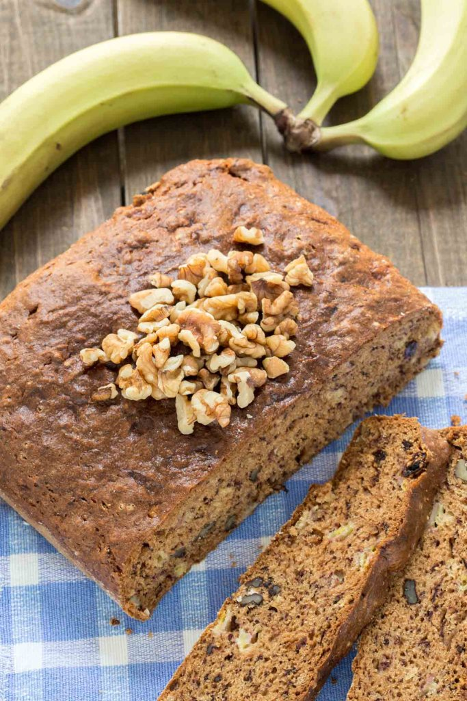 Best Banana Bread Recipe (with extra instructions for gluten free version). Great as a snack to go with a cup of tea or coffee for breakfast.