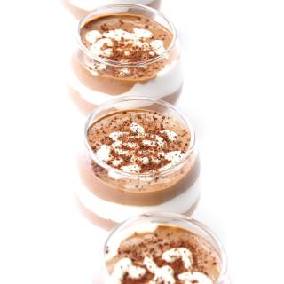 Tipsy, Vegan Chocolate Mousse is the most delicious, healthy and light dessert made with coconut cream base. Easy, 2 step, 10 min recipe.