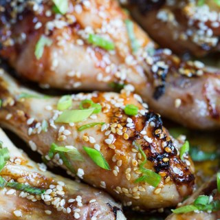 HONEY TERIYAKI CHICKEN DRUMSTICKS