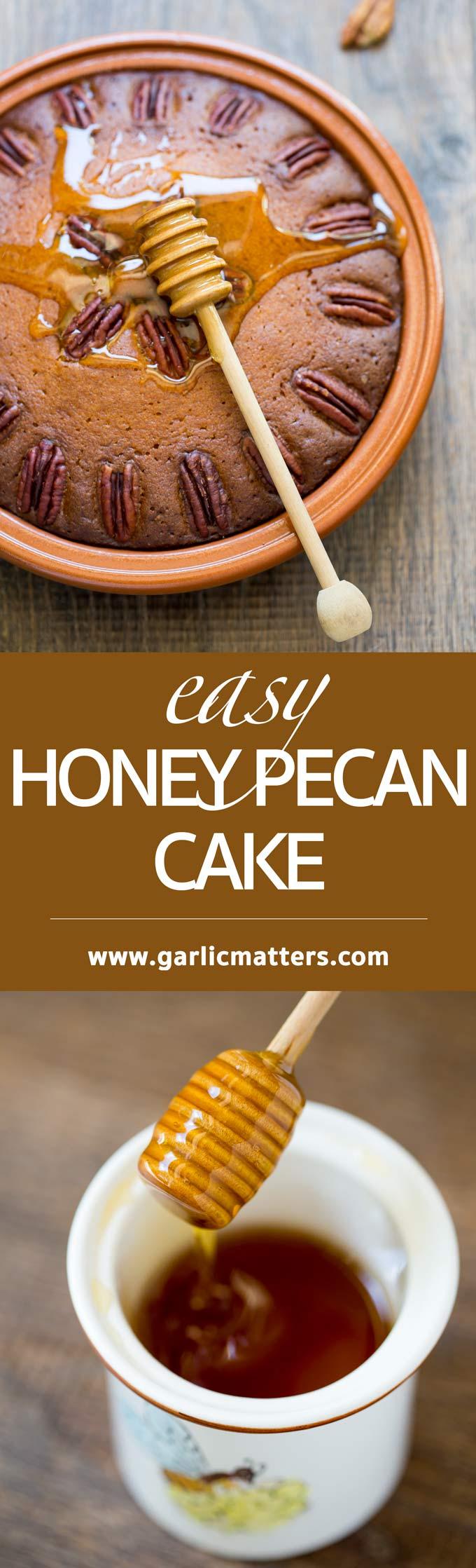 HONEY PECAN CAKE | GARLIC MATTERS