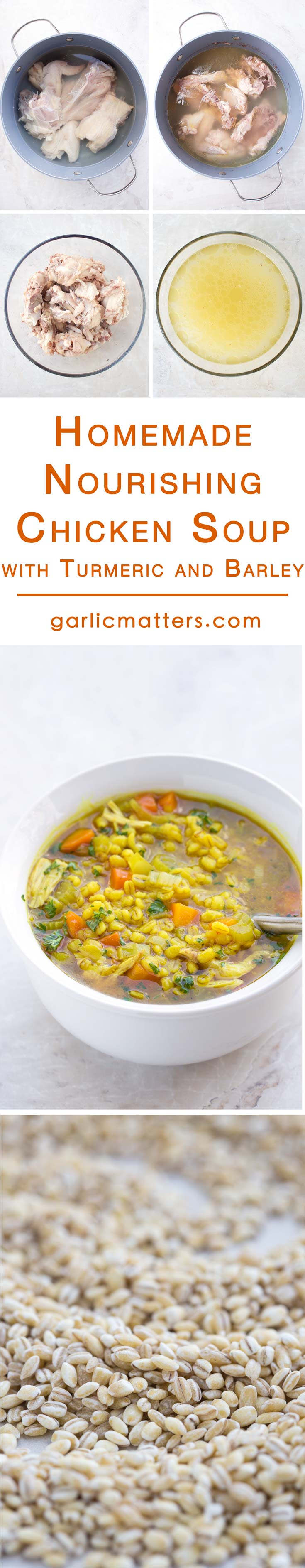 This is an easy, homemade, healing chicken soup recipe made from scratch, including the chicken stock! It has a chunky texture, but it is low carb at the same time. This old recipe is my go to in cold and flu season. It is healing and nurturing for the body and for the soul.