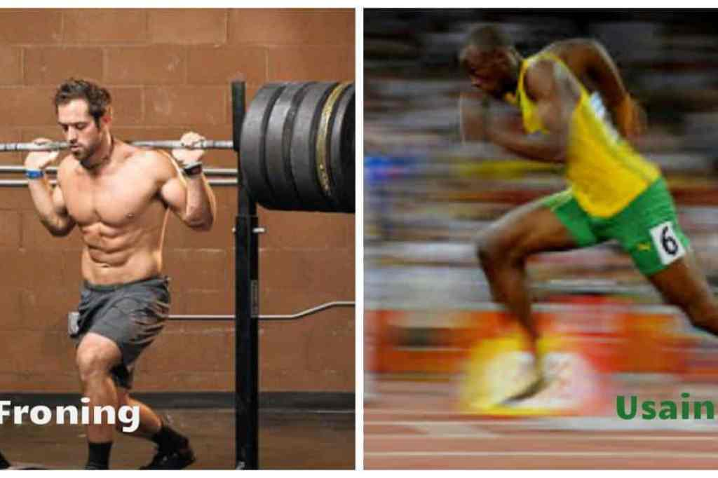 Rich Froning and Usain Bolt