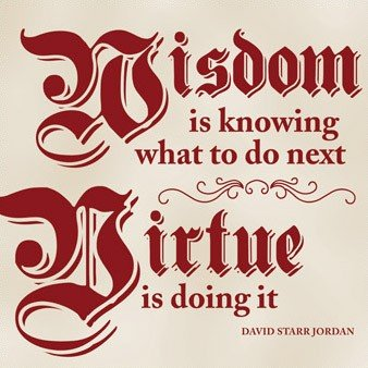 Use the Seven Virtues to capture your goals