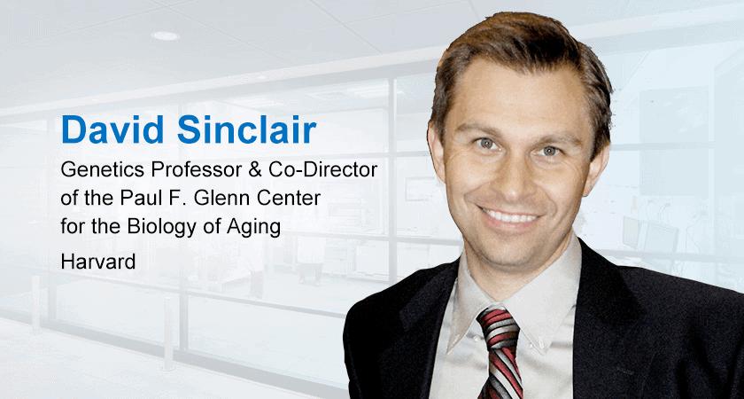 Dr David Sinclair, Lifespan Expert