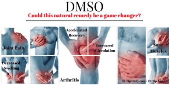 DMSO cream benefits