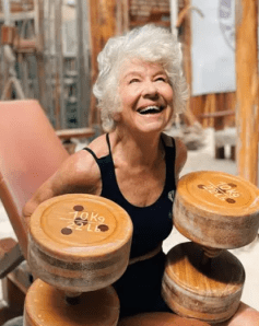 Joan Macdonald improved her healthspan by lifting weights