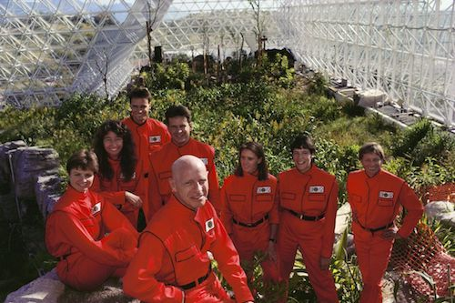 Caloric restriction was practiced during the Biosphere 2 project