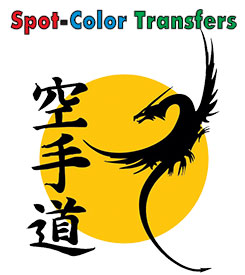 Spot Color Heat Transfers 11″ x 17″