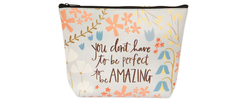 BEAUTIFUL THOUGHT Makeup Bag™ (with Makeup Guards)