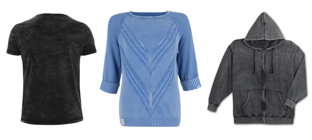 Types of Wash Applied On Knit Garments