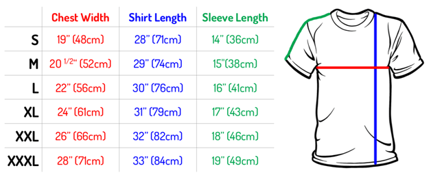 Knit Fabric Consumption formula for a Basic T-Shirt