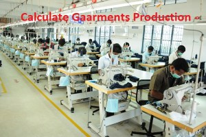 Calculate Garments Production