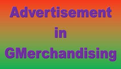advertisement in garments merchandising
