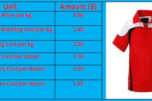polo shirt costing