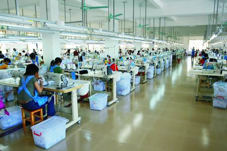 Machine Layout in Apparel Industry