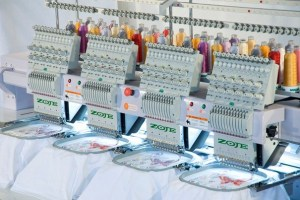 embroidery thread consumption