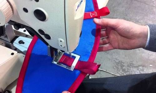 Bar-tak sewing machine