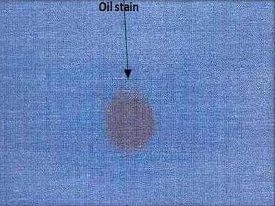 Oil spot