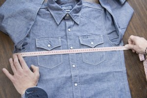 Garment measurement process