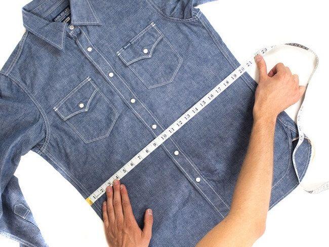 Garment measurement process