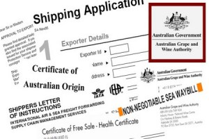 Documents for export-import customs clearance