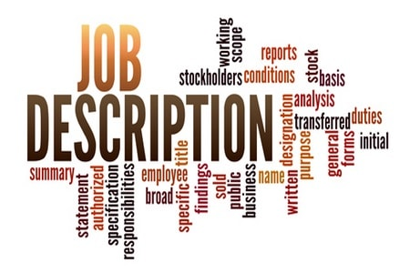 Individual job description in textile & apparel industry