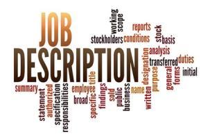 Individual job description in textile & apparel industry