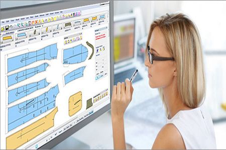 CAD software in apparel industry.