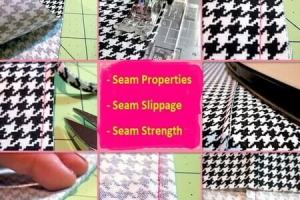 Seam slippage in apparel