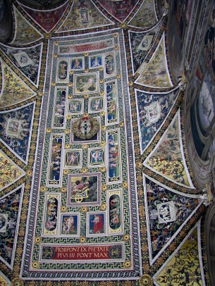 Siena - taket i Duomo katedralen