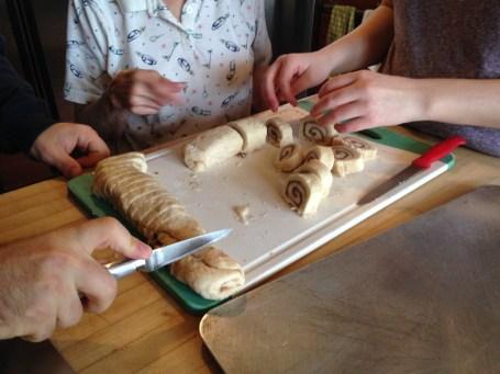 Making Cinnamon Pinwheel Cookies