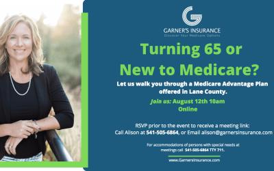 Virtual Event: Medicare Advantage Plan in Lane County