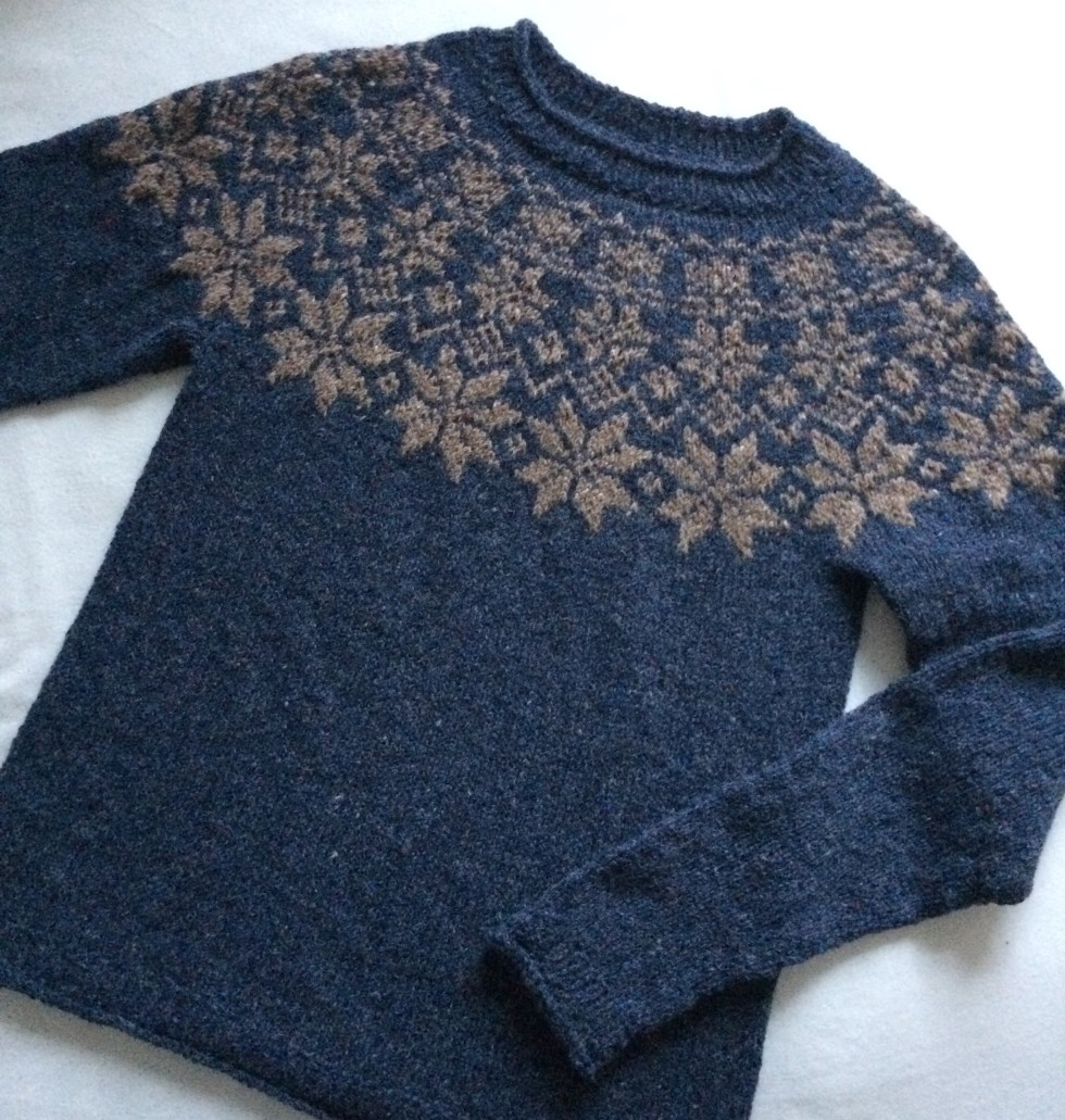 stjernetweedsweater