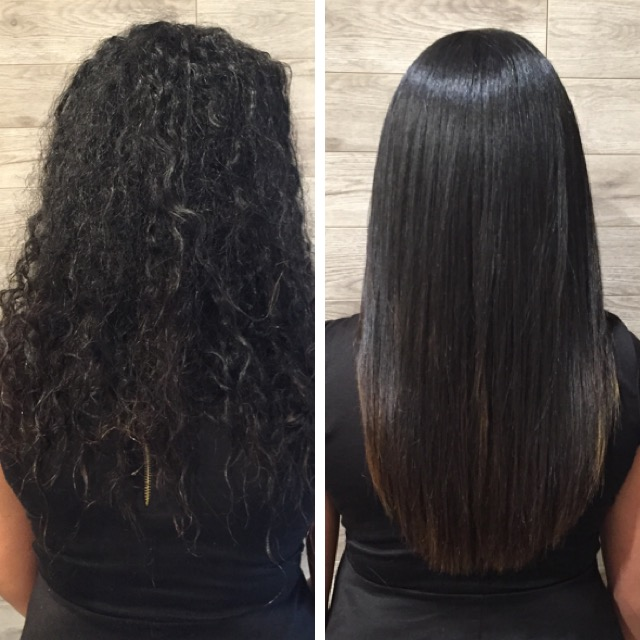 GK The Best Keratin Treatment & Cut