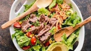 Slow Cooker Steak Salad