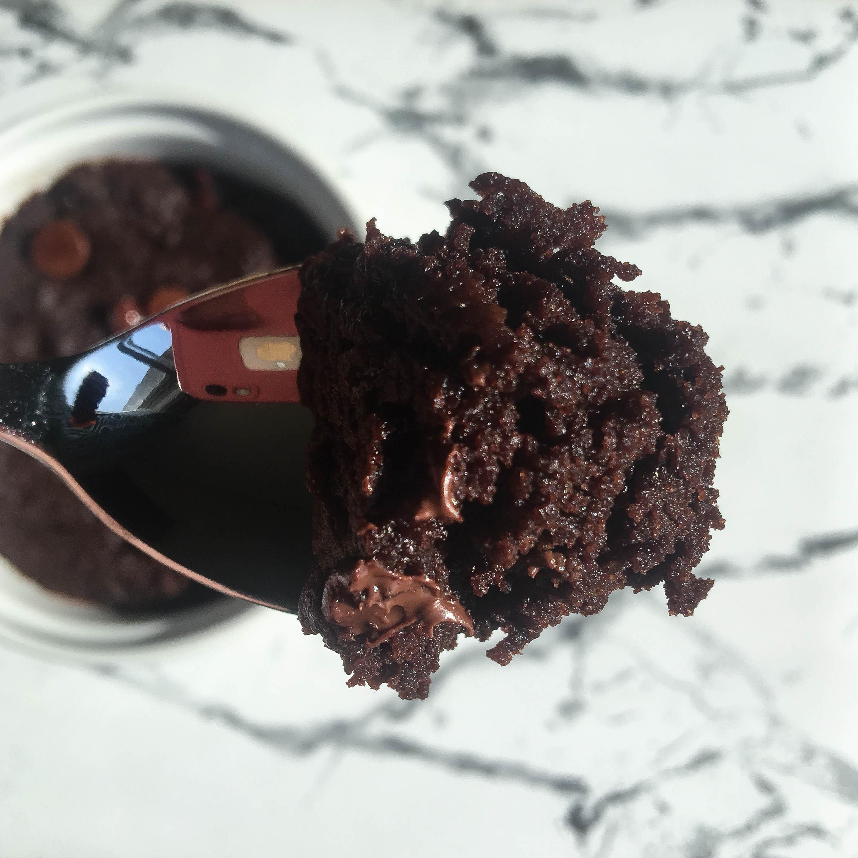 Mood Boosting Mug Brownie