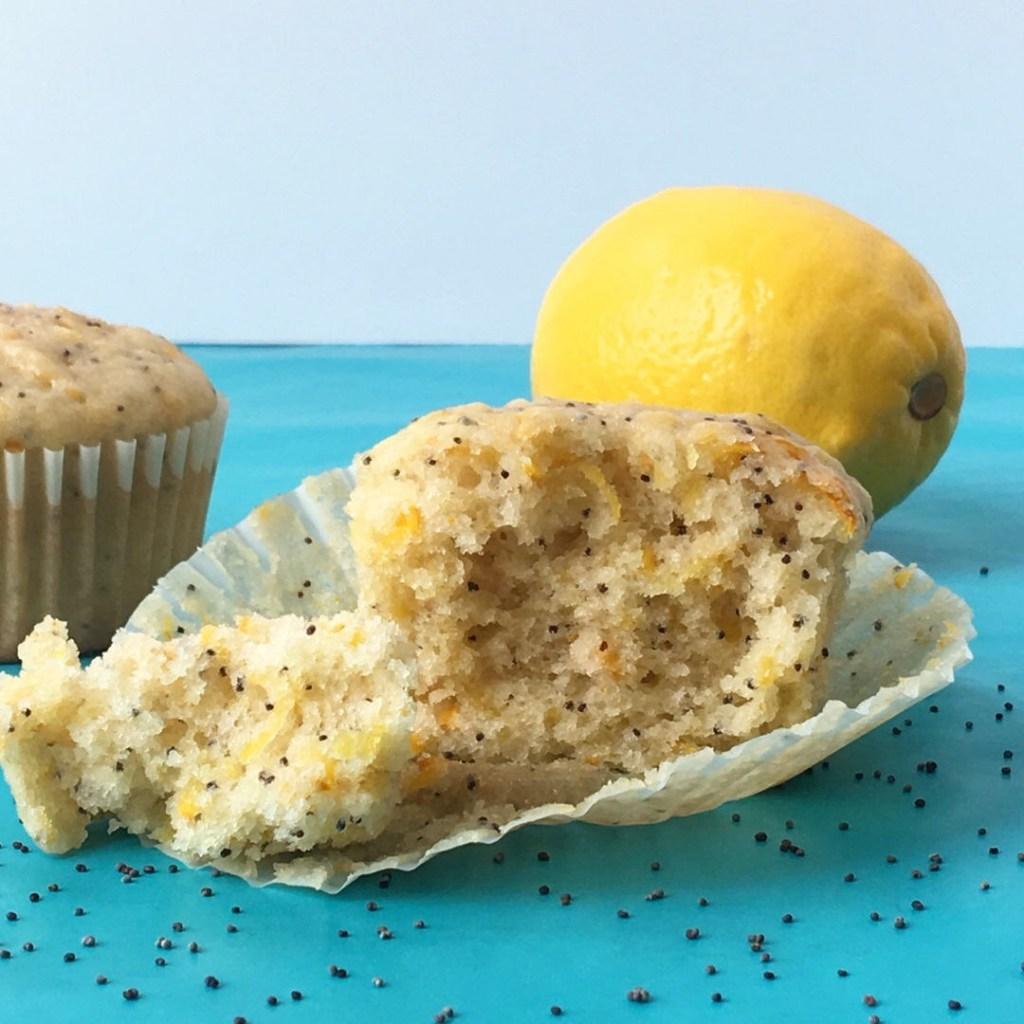 Summer Time Lemon Poppyseed Muffins